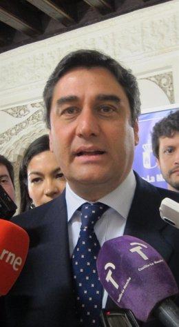 José Ignacio Echániz, consejero Sanidad