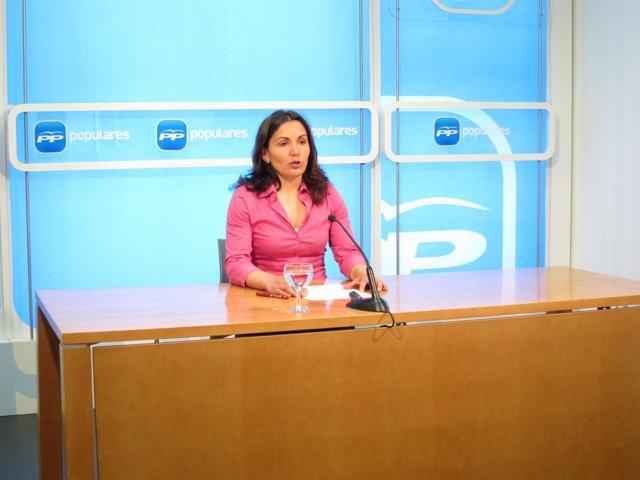 La diputada regional del PP de La Rioja Raquel Sáenz