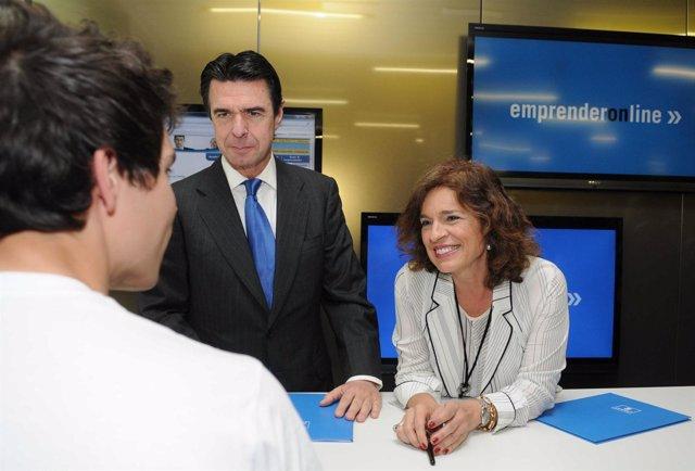 Ana Botella y José Soria