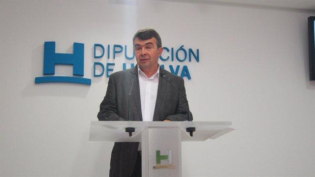 El portavoz del equipo de gobierno de la Diputación de Huelva, José Martín.