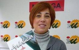 La parlamentaria andaluza de IU Dolores Quintana