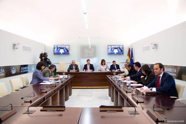 Parlamento Extremadura