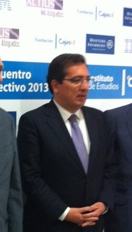 El presidente de la Fundación Cajasol, Antonio Pulido