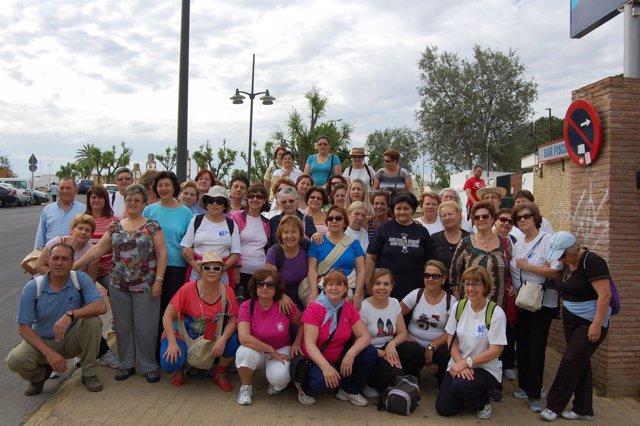 Miembros de la Asociación de Fibromialgia de Alcalá de Guadaíra.