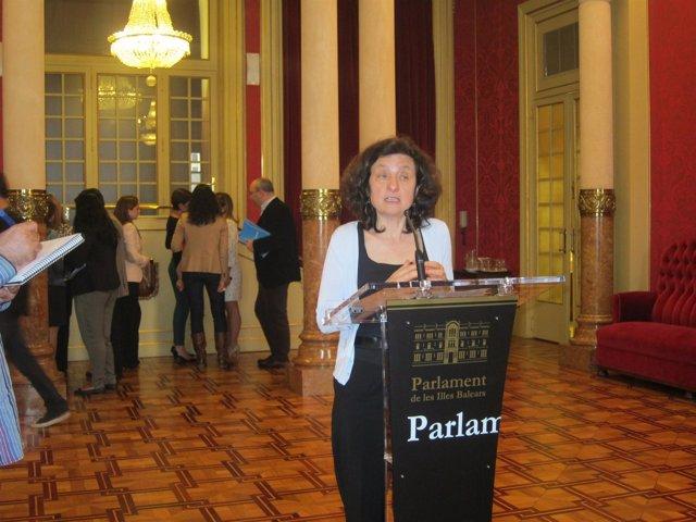 Santiago en el Parlament