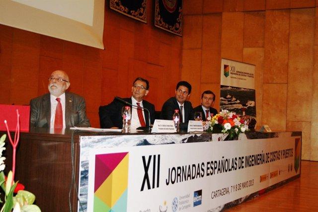 Inauguración de las XII Jornadas Españolas de Ingeniería de Costas y Puertos