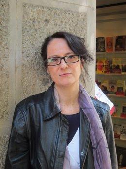 La escritora Marta Sanz