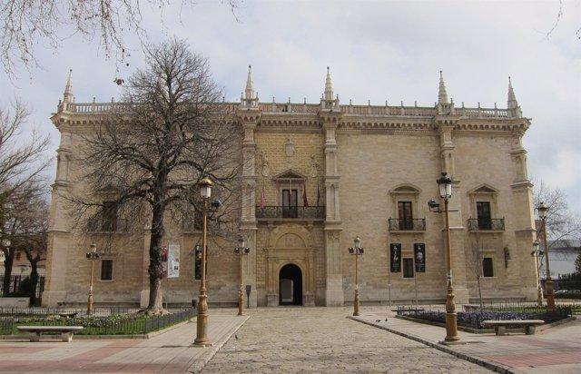 El Palacio de Santa Cruz, sede del Rectorado de Valladolid