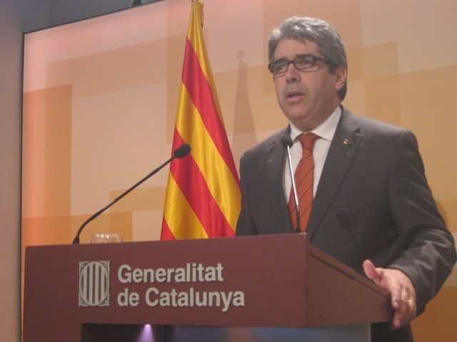 El portavoz del Govern, Francesc Homs