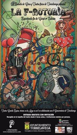 Cartel del espectáculo de fin de curso de la Escuela de Circo