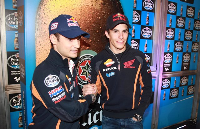 Dani Pedrosa y Marc Márquez