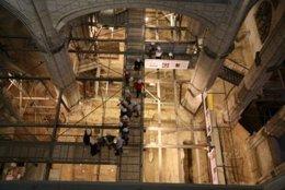 Excavaciones en el crucero de la catedral santa maría de vitoria