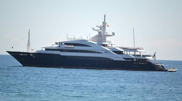 Yate de un empresario hindú lujo crucero Marbella