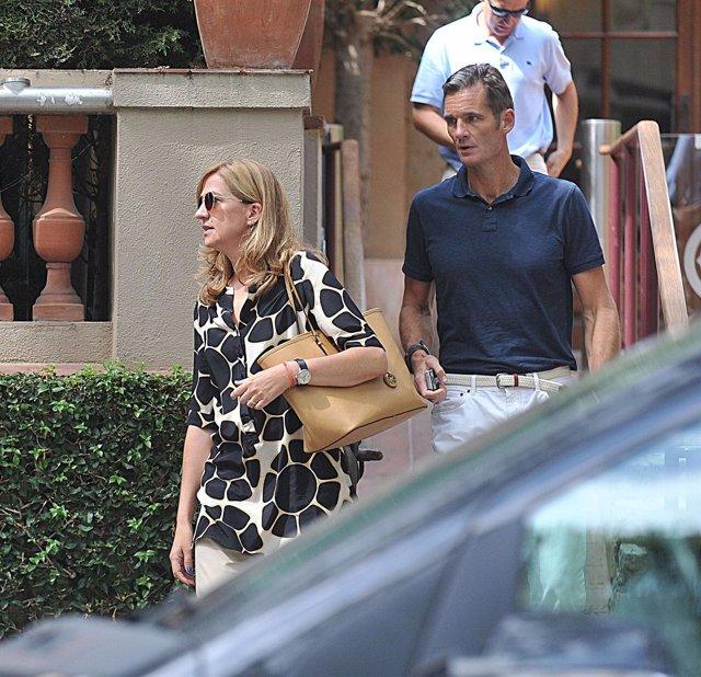 Urdangarin y la Infanta Cristina
