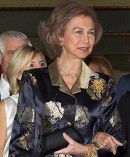 La Reina doña Sofía
