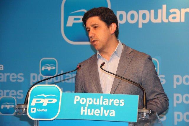 El parlamentario andaluz del PP Alberto Fernández.