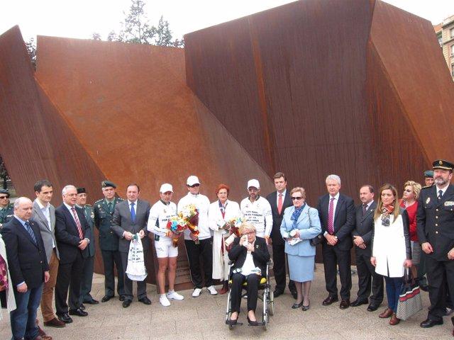 Homenaje a las víctimas de ETA en Logroño