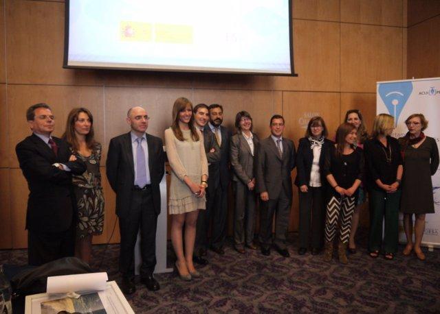 Entrega de premios Acuipress, de Fundación OESA