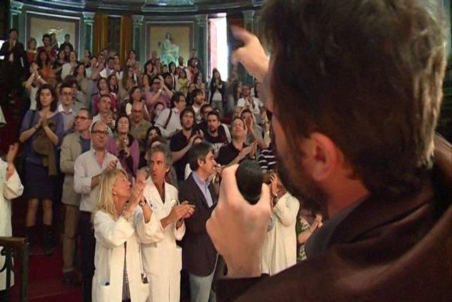 AFEM se reúne en defensa de la sanidad madrileña