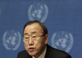"""Ban Ki Moon pide la """"inmediata liberación"""" de los cascos azules detenidos en Siria"""