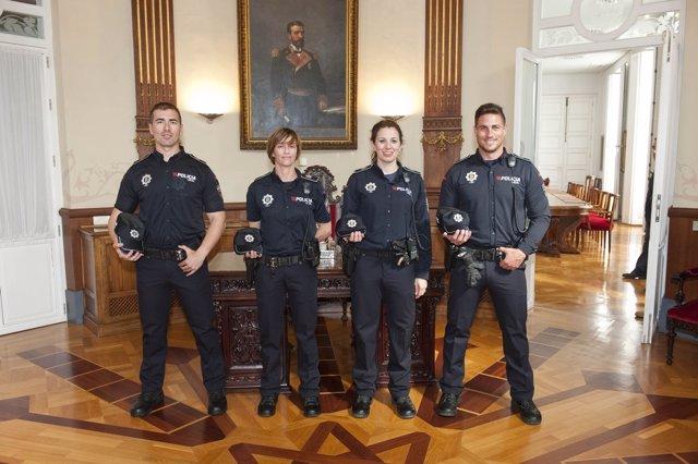 Imagen de los nuevos uniformes