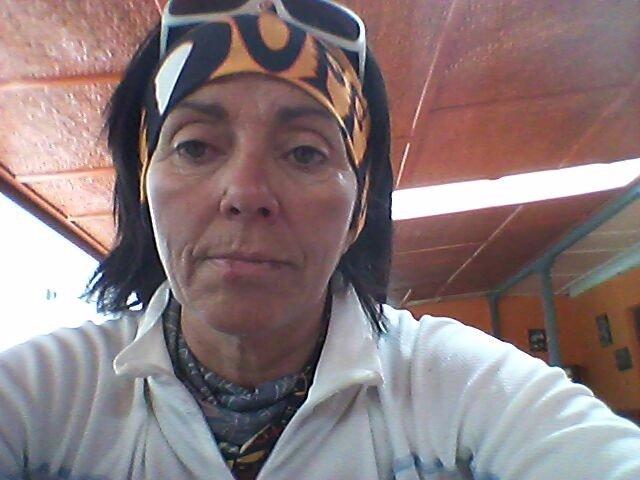 La alpinista Rosa Fernández