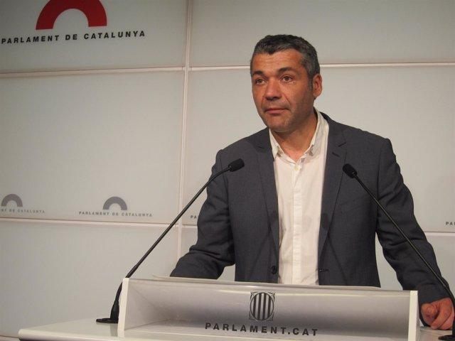 Oriol Amorós (portavoz adjunto de ERC)