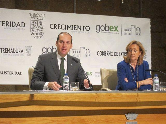 Carrón y María José Ordóñez