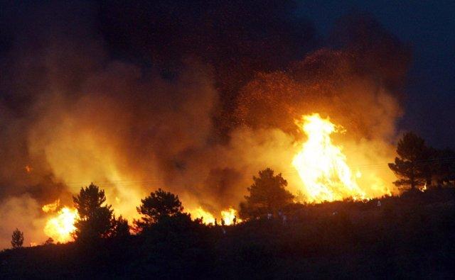 Recurso del incendio en Guadalajara de 2005