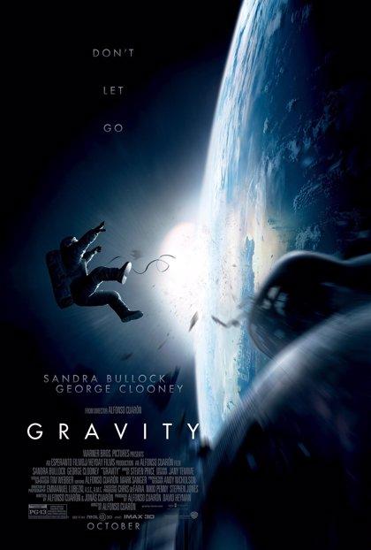Primer póster de 'Gravity', lo nuevo de George Clooney