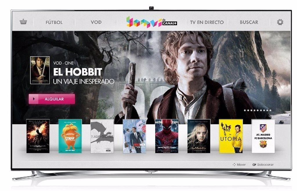 Yomvi El Videoclub Online De Canal Llega A Las Samsung Smart Tv