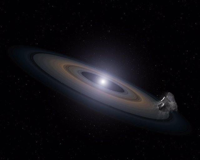 Hallan estrellas muertas 'contaminadas' con escombros de planeta