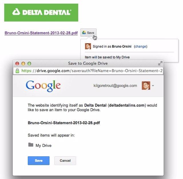 Google instala un nuevo botos para guardar páginas