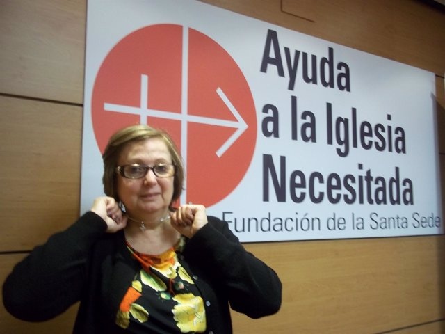 Nadia Eweida en Ayuda a la Iglesia Necesitada