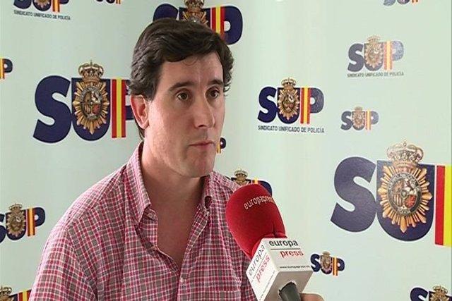 Miguel ángel Fernández, secretario acción sindical del SUP