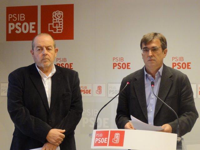 Antoni Manchado y Francesc Antich