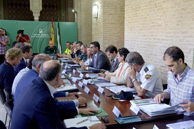 Reunión del comité asesor del Plan Romero.