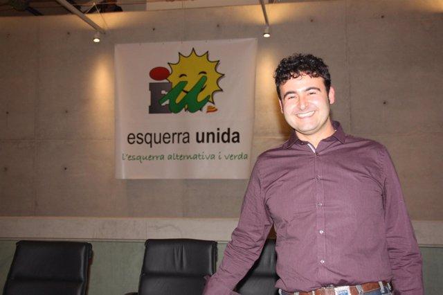 Manel Carmona, coordinador EU en Baleares