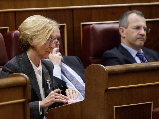 Rosa Díez, Carlos Martínez Gorriaran y Alvaro Anchuelo