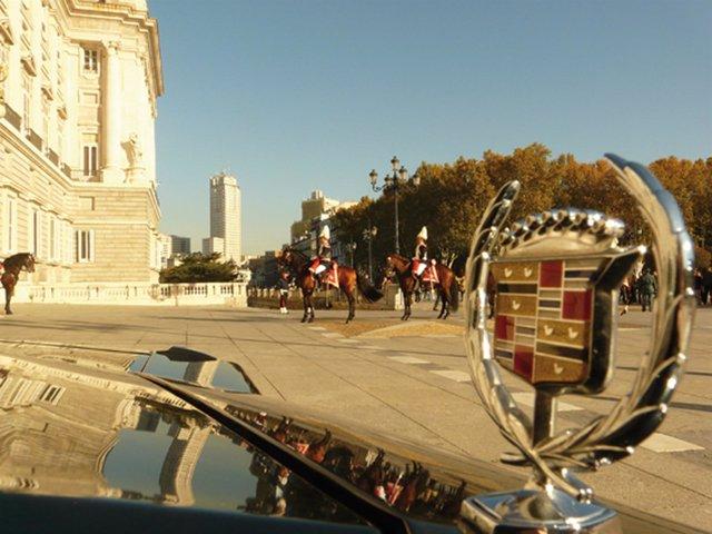 Parada Guardia Real. Palacio Real. Madrid