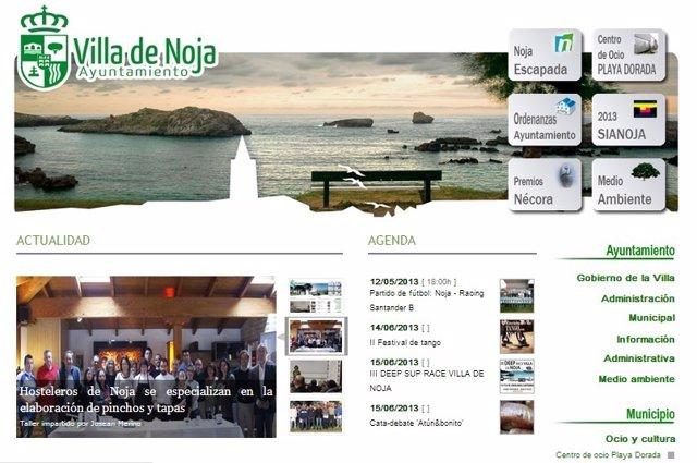Página web de Noja