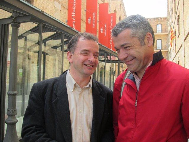 Alfred Bosch y Xavier Amorós