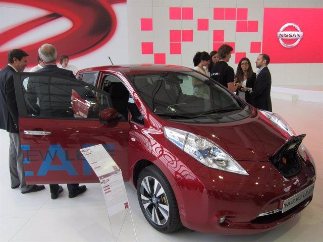 Nuevo Nissan Leaf en el Salón del Automóvil de Barcelona