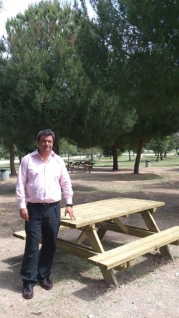 Zona de picnic en el Tamarguillo