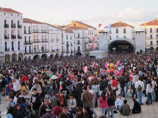 Festival Womad En Cáceres 2012