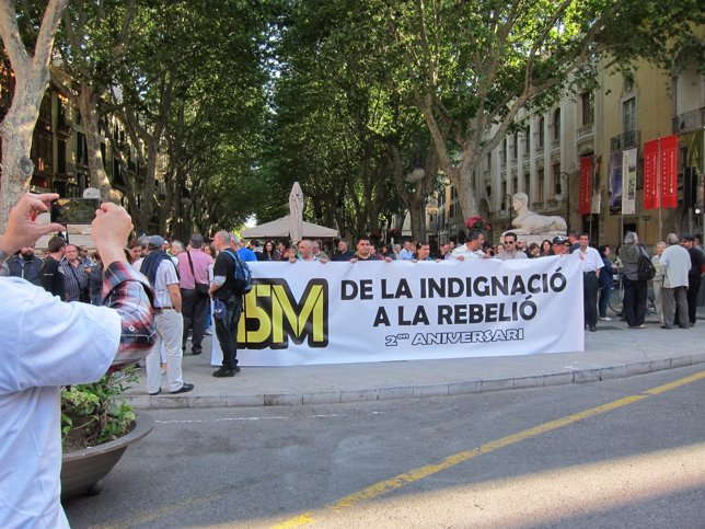2º Aniversario 15M En Palma
