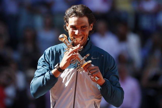 Rafa Nadal se 'reconcilia' con Madrid