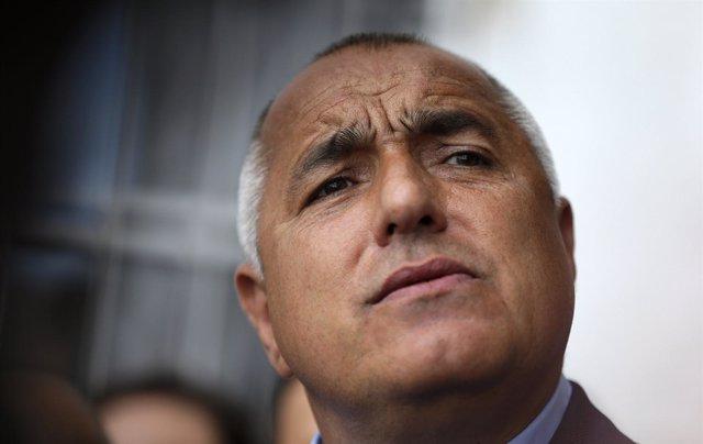 Boiko Borisov, líder del partido GERB de Bulgaria