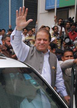 El ex primer ministro de Pakistán, Nawaz Sharif