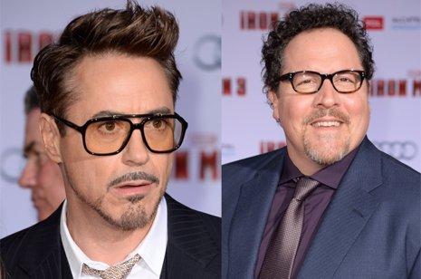 Robert Downey Jr. Y Jon Favreau